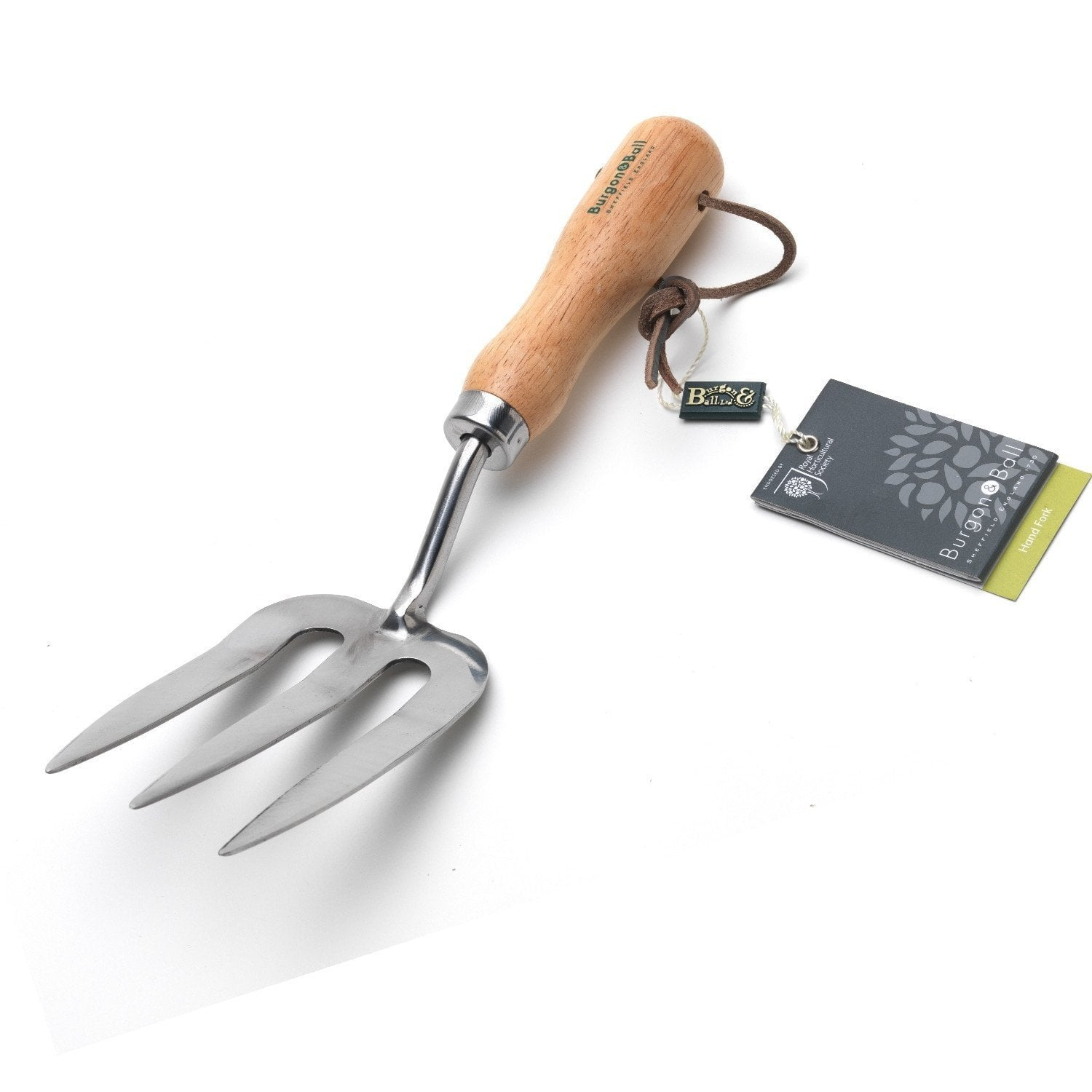 BURGON & BALL | Classic Hand Fork - Stainless. RHS Endorsed