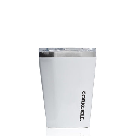 CORKCICLE | Stainless Steel Insulated Tumbler 12oz (355ml) - Gloss White