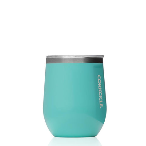 CORKCICLE | Stainless Steel Insulated Stemless 12oz (355ml) -Turquoise