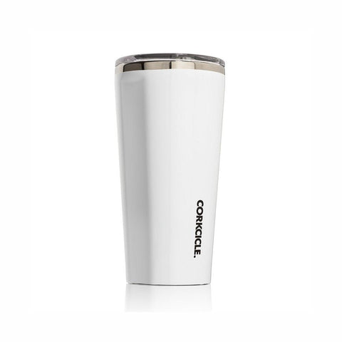 CORKCICLE | Stainless Steel Insulated Tumbler 16oz (475ml) - Gloss White