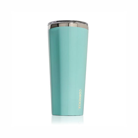 CORKCICLE | Stainless Steel Insulated Tumbler 16oz (475ml) - Gloss Turquoise