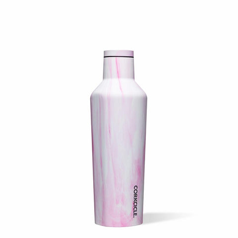 CORKCICLE | Stainless Steel Insulated Canteen 16oz (470ml) - Origins Pink Marble