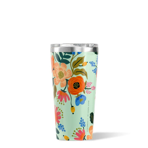 CORKCICLE x RIFLE | Stainless Steel Insulated Tumbler Mug 16oz (475ml) - Lively Floral