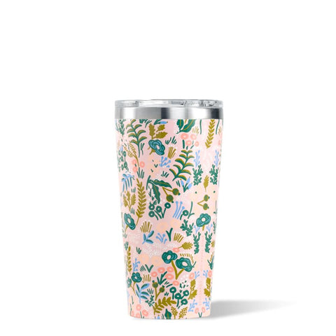 CORKCICLE x RIFLE | Stainless Steel Insulated Tumbler 16oz (475ml) - Pink Tapestry