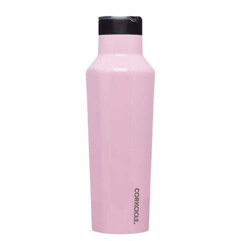 CORKCICLE  Insulated Sports Canteen Bottle 20oz (590ml) - Rose Quartz