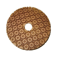 Stonex Copper Bond Polishing Pad - 100mm - Snail Lock