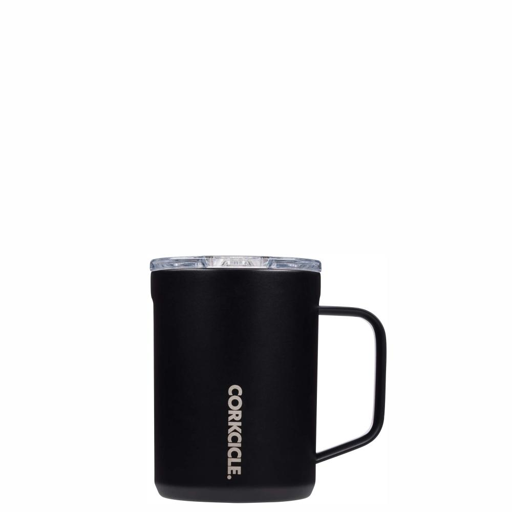 CORKCICLE Insulated Mug 16oz (470ml) - Matte Black