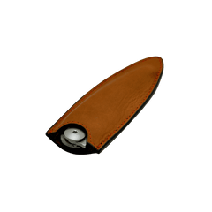 DEEJO KNIFE | Leather Sheath for 37g - Natural Tan