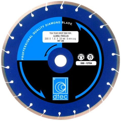 TDA Tear Drop Rim Diamond Blade