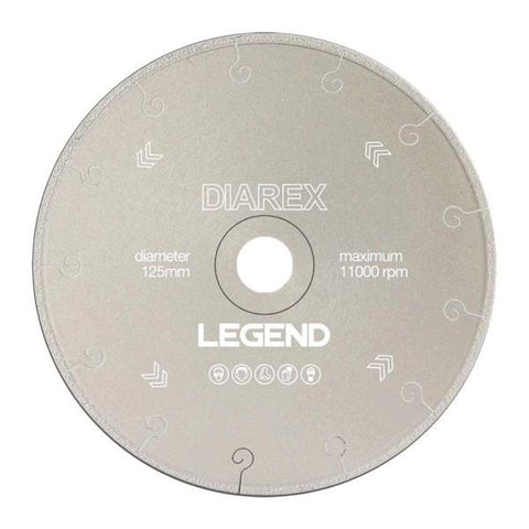 Diarex LEGEND Vacuum Brazed Diamond Blade