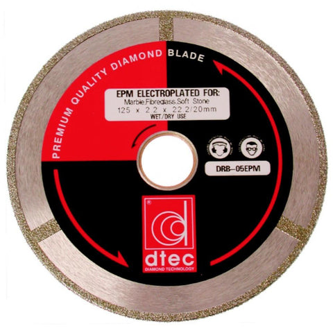 EPM Continuous Rim Electroplated Diamond Blade - 230mm