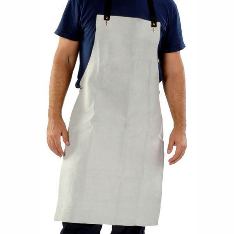 ELLIOTS  | A1 Chrome Leather Bib Style Apron
