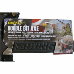 ESTWING BLACK EAGLE Double Bit Axe label