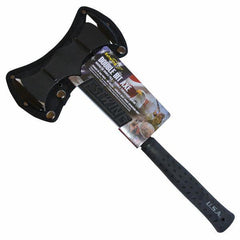 Estwing Black Eagle Double Bit Axe front profile