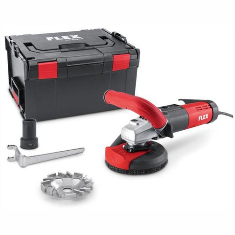 FLEX 125mm Concrete Grinder - 1400W LD15-10125R, Kit TH-Jet