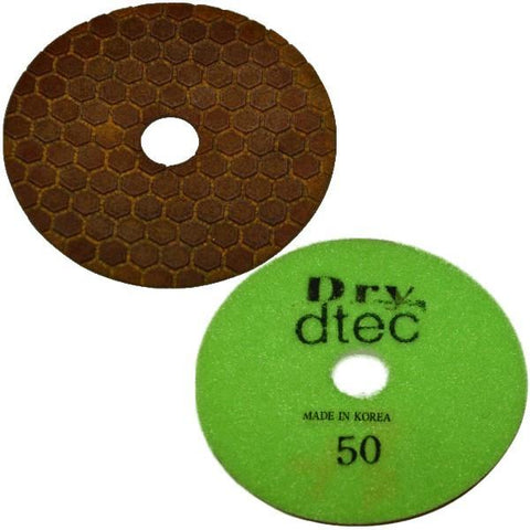 Stonex Flexible Dry Polishing Pad - Econo Series - 100mm / 4""