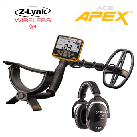 GARRETT  ACE APEX Wireless Package Gold Prospecting Metal Detector