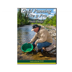 GARRETT DVD Cover - Gold Panning Like a Pro