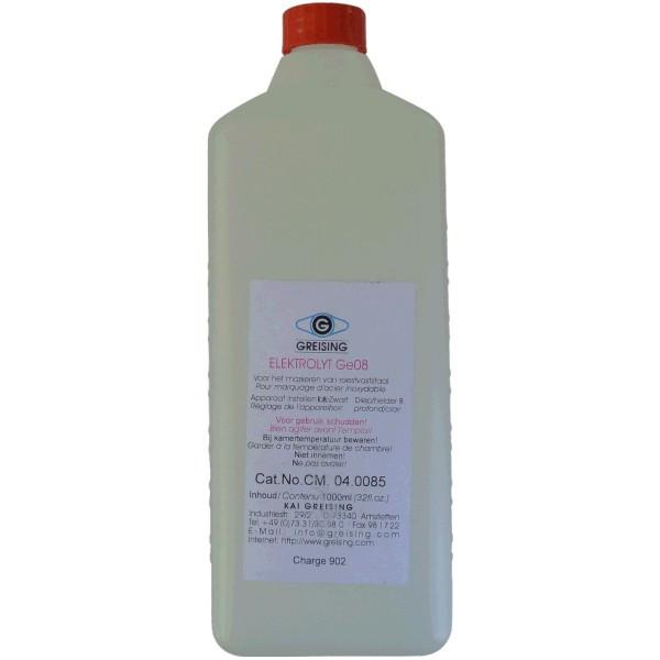 Front view of 500ml WELDBrush Keztek GE08 Marking Fluid