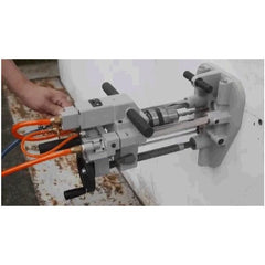 GISON Portable Air Drilling Machine in Use
