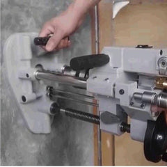 GISON Portable Air Drilling Machine in Action