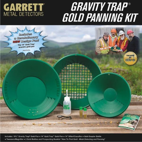 GARRETT | Gold Pan Kit