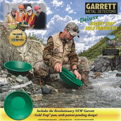 Book Cover that comes with of GARRET Gold Pan Deluxe Kit