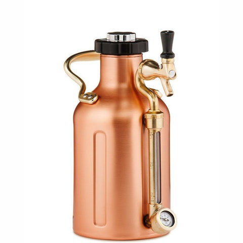 GROWLERWERKS | uKeg 64oz Beer Keg, Copper Cocktail Kit