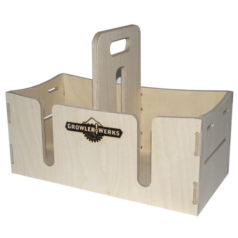 GROWLERWERKS | uKeg128 Wooden Carry Case