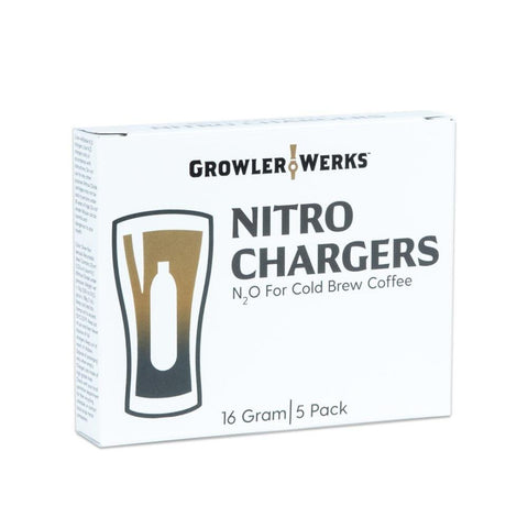 GROWLERWERKS | uKeg Nitro Cold Brew Coffee Maker Nitro-Chargers