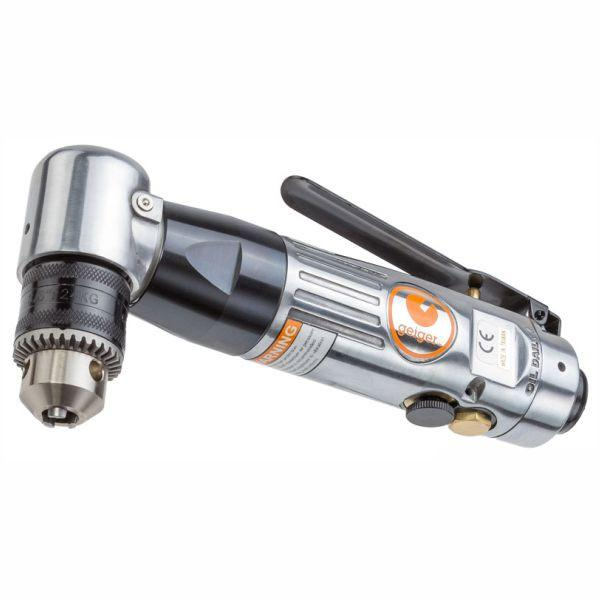 "Geiger 3/8"" Reversible Angle Air Drill"
