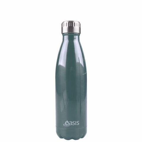 OASIS Drink Bottle 500ml Stainless Insulated - Navy