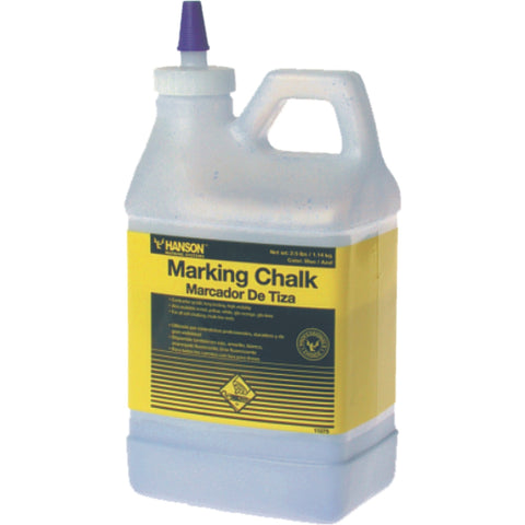 HANSON | Line Marking Builders Chalk - 2.5lb Bottles