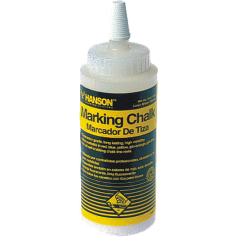 HANSON | Line Marking Builders Chalk - 4oz Bottles