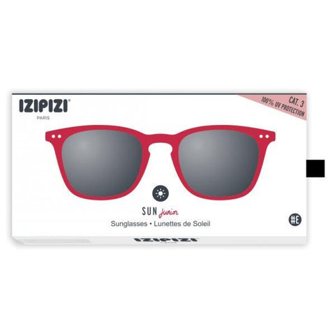IZIPIZI PARIS |  Sun Junior STYLE #E  -  Red (3-10 YEARS)