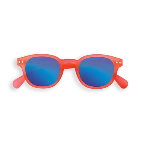IZIPIZI PARIS |  Sun Junior Mirror Lens - STYLE #C - Orange Saffron (3-10 YEARS) **LIMITED EDITION**