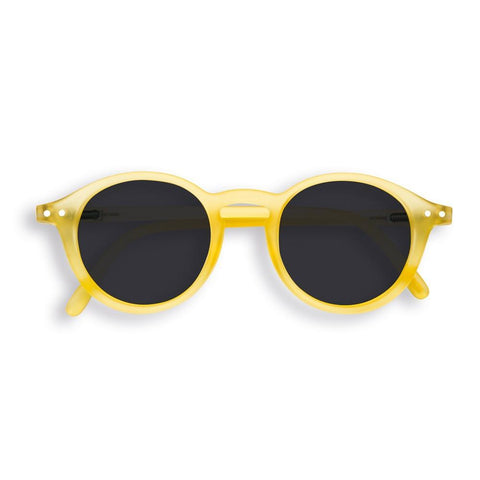 IZIPIZI PARIS | Sun Junior - STYLE #D - Yellow Chrome (3-10 YEARS) *FLASH LIGHTS LIMITED EDITION*