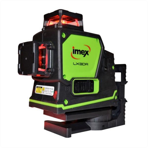 Imex 3D Multi-Line Laser With 3 x 360° Lines - Red Beam