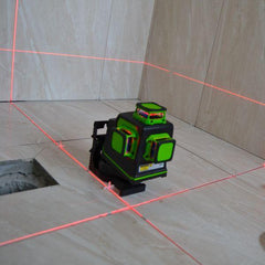 Imex 3D Multi-Line Laser With 3 x 360° Lines + Detector - Red Beam