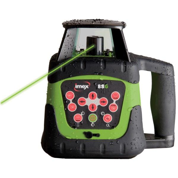 Imex 88G Green Beam Rotating Laser Level