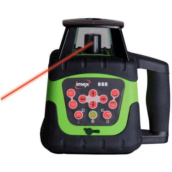 Imex 88R Red Beam Rotating Laser Level