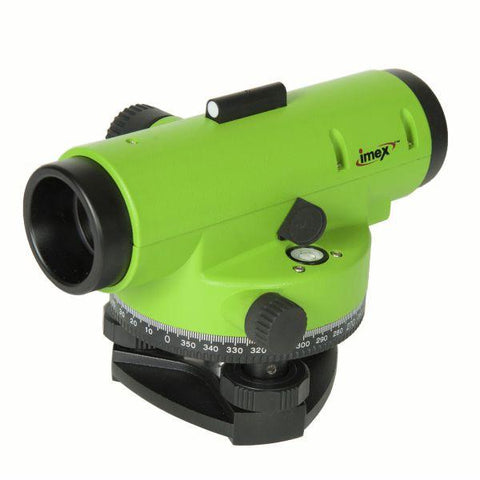 Imex LAR28 Magnification Auto level with trip & 5m staff