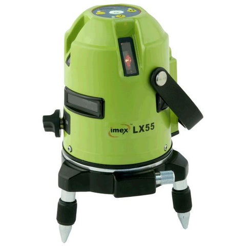 Imex LX55 Multi-Liner Laser Level - 360 deg. Horizontal & 4 Vertical Lines