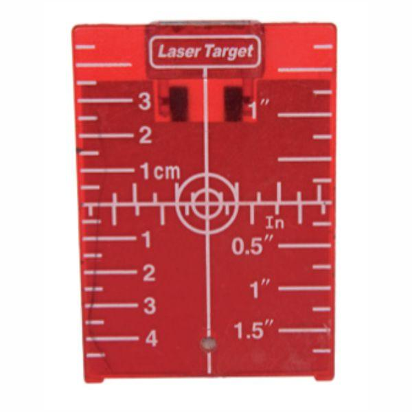 Imex Laser Accessories - Target Plate, Red
