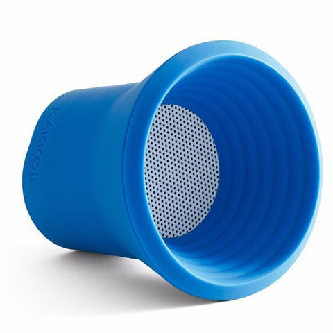 KAKKOii | Wow Splash Waterproof Wireless Bluetooth Speaker - Blue **LIMITED STOCK**