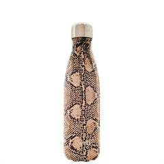 S'Well - Insulated Bottle Exotics Collection 500ml - Sand Python