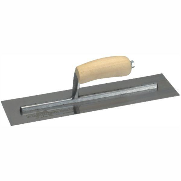 MARSHALLTOWN | Finishing Trowel Stainless Steel - Timber Handle