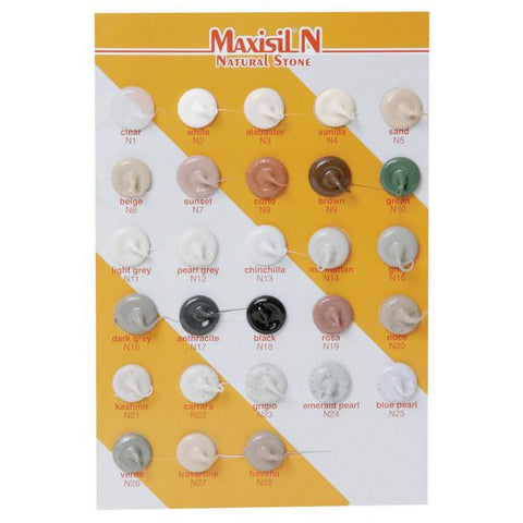 MAXISIL N Silicone - For Natural Stone - 310ml Tube