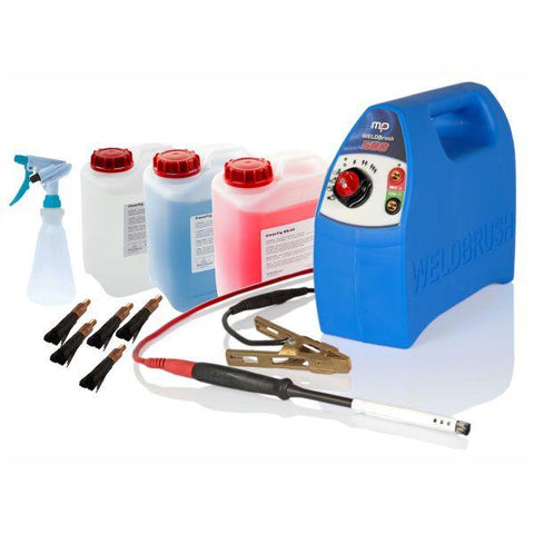 WB500 WELDBrush Stainless Steel Weld Cleaning Starter Kit