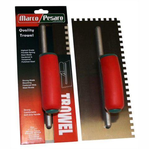 Marco Pesaro Adhesive Trowel - Square Notched